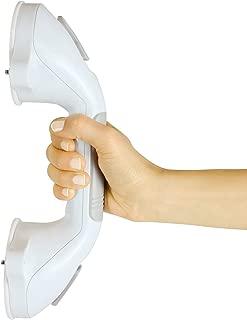 Vive Grab Bar - Suction Shower Handle - Bathroom Balance Bar - Safety Hand Rail Support for Tub, Handicap, Elderly, Injury, Kid, Senior Assist Bath Handle, Non Skid