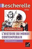 Bescherelle Chronologie de l'histoire du monde contemporain : de 1914 à nos jours (Chronologies)