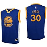 OuterStuff NBA Boys' Replica Player Jersey-Road, Stephen Curry, Youth Small(8)