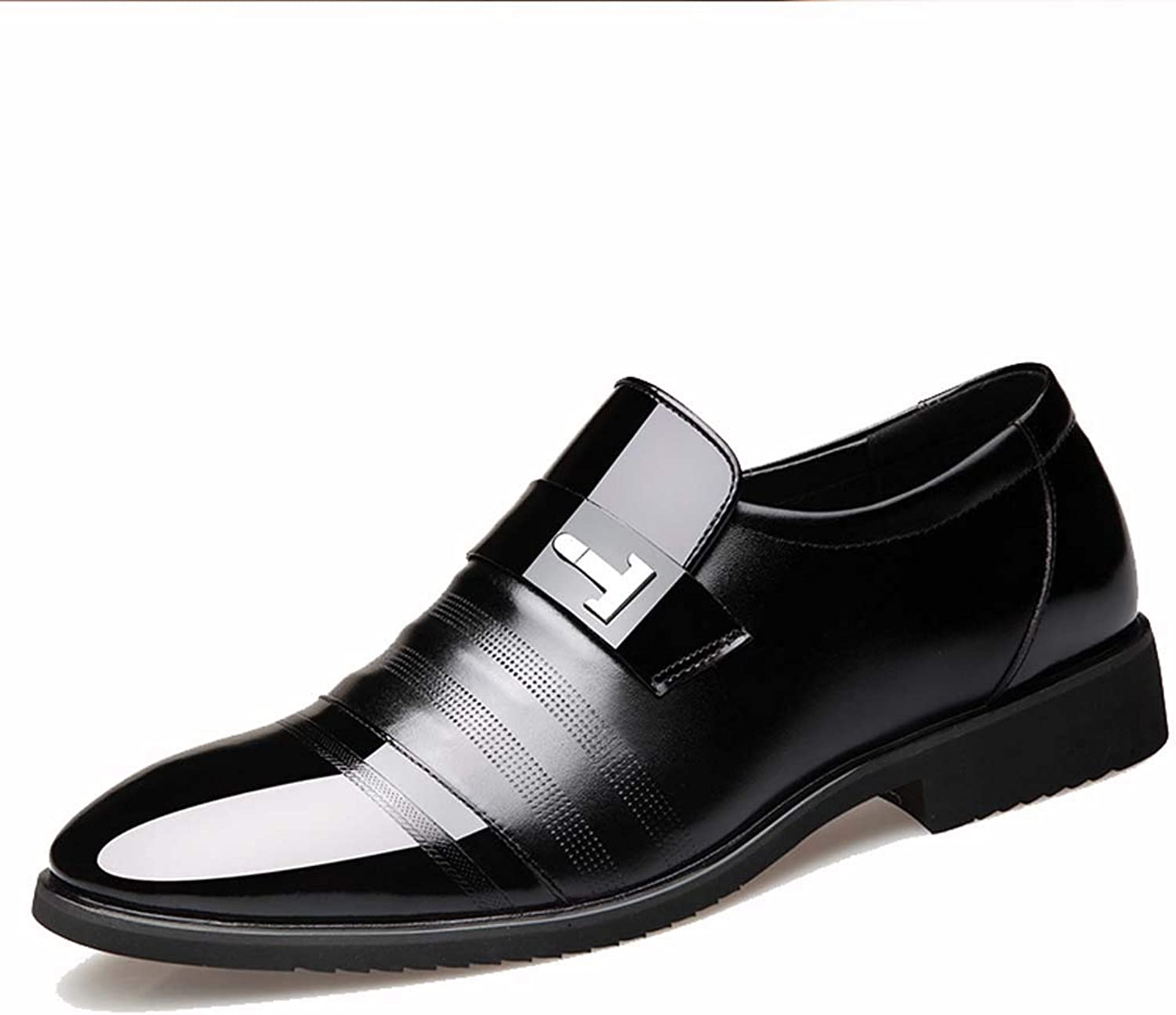 MISS&YG Men's dress shoes business shoes wedding shoes groom dress shoes office shoes party shoes nightclub shoes