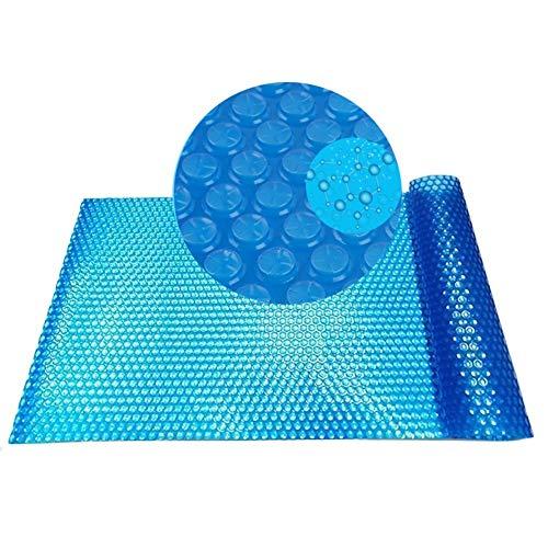 Couverture de Piscine Rectangulaire pour Les Piscines Creusées, Couverture Solaire Bleue, Durable Étanche À la Poussière et Léger (Size : 3x3m)