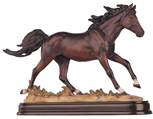GSC Horses Collection Brown Horse Figurine Decoration Decor Collectible