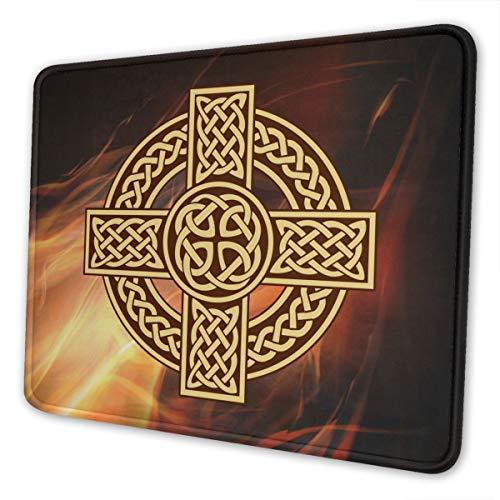 Celtic Cross Irish Scottish Mouse Pad Computer Mouse Pad Multi Size Mouse Pad Non Slip Rubber Mouse Pad