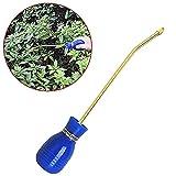 Accesorio Para Polvo Azul Del Plumero De Bulbo De Control De Plagas De Termitas Pulverizador De Control Del Plumero De Insecticida Aplicador De Mano De Pesticidas Tierra De Diatomeas En Polvo Duster.