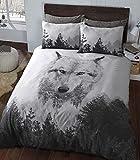 Sleepdown - Juego de Funda nórdica Individual, algodón, Multicolor