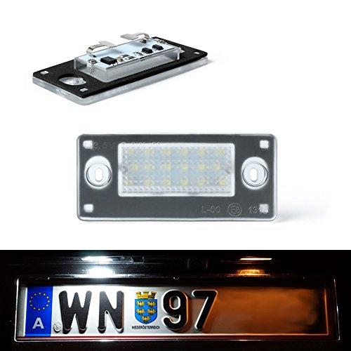Do!LED C13 LED Kennzeichenbeleuchtung Xenon Weiss mit E Prüfzeichen