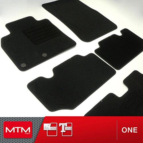 sur Mesure en Velours Noir cod MTM Tapis de Sol Civic IX Depuis 03.2012 One fr729