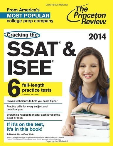 Cracking the SSAT & ISEE, 2014 Edition (Private Test Preparation) by...