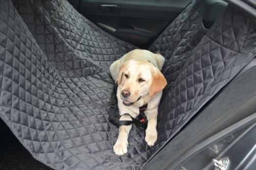 tierlando Autoschondecke MAX Auto Hundedecke Schutzdecke 160 180 200cm x 140cm Größe: SM 180 cm | Farbe: 02 Graphit