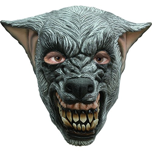 AEC - MAHAL629 - Masque loup terrifiant en latex adulte