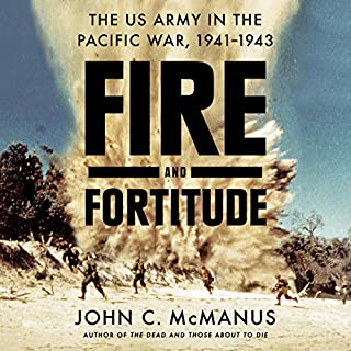 Fire and Fortitude audiobook cover art