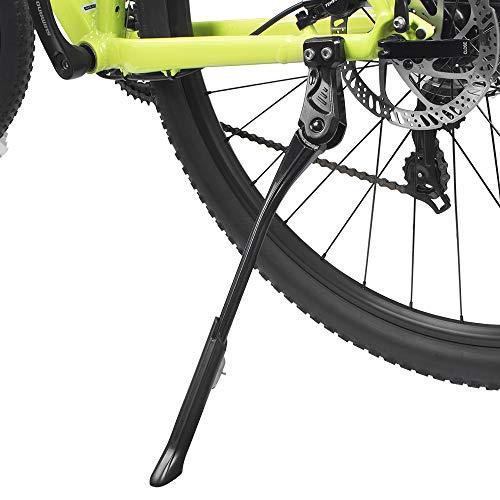 "BV Adjustable Rear Mount Bicycle Bike Kickstand for 24"" - 29"" Mountain Bike/Road Bike/BMX/MTB (18mm (Hole Distance))"