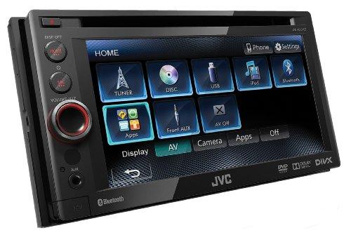 JVC KW-AV61BTE(KW-AV61BT) - DVD/CD/USB-Receiver mit Bluetooth-Technologie und 6,1