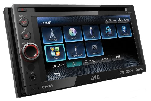 """JVC KW-AV61BTE(KW-AV61BT) - DVD/CD/USB-Receiver mit Bluetooth-Technologie und 6,1\"""" Touch-Panel-Breitbildschirm mit VGA-Auflösung"""