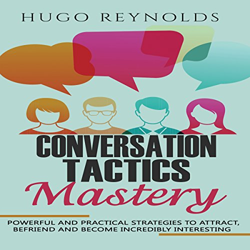 Conversation Tactics Mastery audiobook cover art