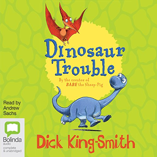 Dinosaur Trouble audiobook cover art