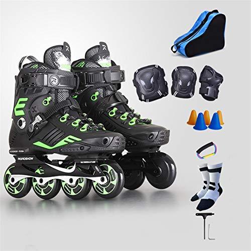 mfwwewe Adult Inline Skates Professional Fancy Roller Skates Suitable For Beginners 35 44 Yards Color 1 Size EU 38US 6UK 5JP 24CM