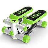 MiaoMiao MIAO casa no Have A instalar multifuncional fina cintura máquina Stepper deportes Fitness Equipment, Verde
