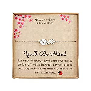 The Meaning: Help her celebrate the achievement of retirement with a gift that is both stylish and motivational. Remember the past, enjoy the present, embrace the future. Moving on to new chapters in our lives. The little ladybug is a symbol of good ...