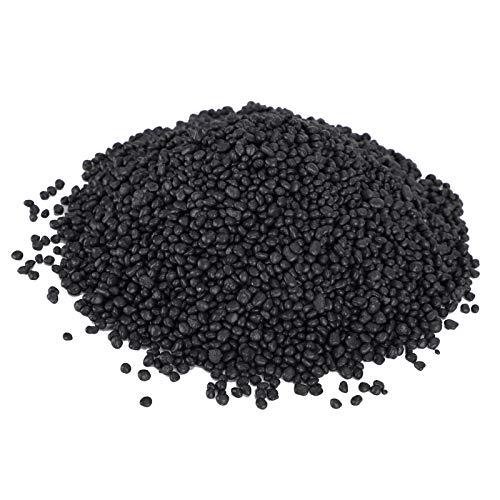 Cikonielf Acuario Negro Grava pecera Plantas de Agua Barro sustrato de Acuario Suelo para acuarios jarrones de jardinería Plantas 1 kg