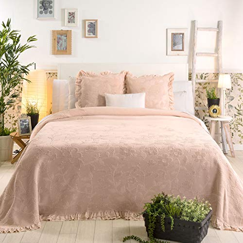Sancarlos Pioneous sprei, Roze, Bed 90