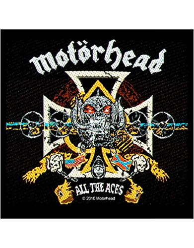 MOTORHEAD ALL THE ACES Patch