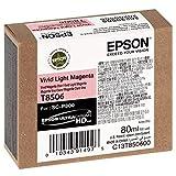 Epson T850600 - Cartucho de tinta, color magenta claro, Ya disponible en Amazon Dash Replenishment
