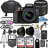 Nikon D3500 DSLR Camera with 24.2 MP Sensor, NIKKOR 18-55mm f/3.5-5.6G VR Lens