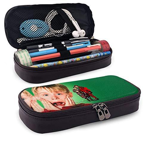 HOM-e Alo-ne - Estuche grande para lápices de gran capacidad, bolsa de maquillaje para adolescentes y escuelas