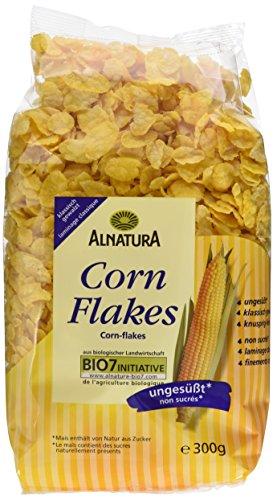 Alnatura Bio Cornflakes, ungesüßt, 6er Pack (6 x 300 g)