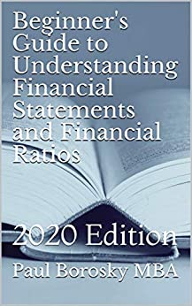 Beginner's Guide to Understanding Financial Statements and Financial Ratios: 2020 Edition (R-Rated Education) by [Paul Borosky MBA]