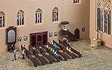 Faller H0 Kirchenausstattungs-Set, Miniaturwelten Bausatz (1:87), Art. 180346