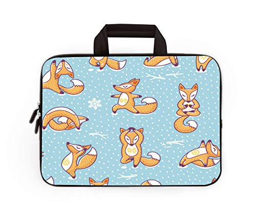 Laptop Sleeve Bag Funny Girl Love Panda Cover Computer Liner Package Protective Case Waterproof Computer Portable Bags