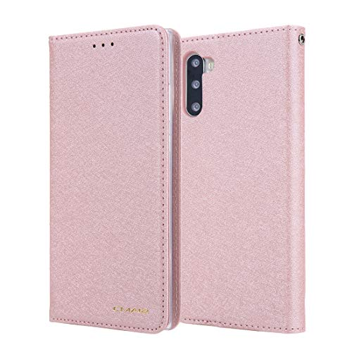 JIAHENG Phone Case Silk Pattern Wallet Phone Case for Samsung Galaxy Note10 Plus Leather Card Case Wallet with Handy Stand Feature Flip Phone Case [PU Shockproof Interior Case] PU Leather Cover S