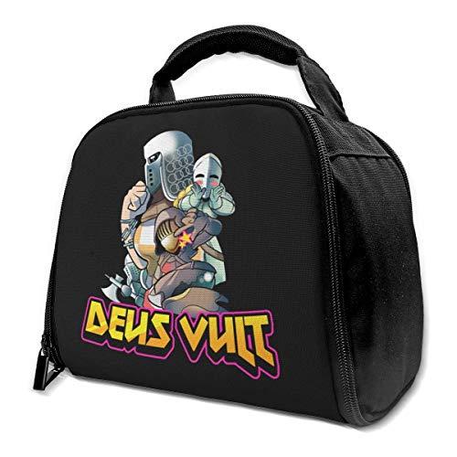 li Deus Vult For Honor Isolierte Tasche Lunch Bag Isolierte Lunch Box Einkaufstasche Kühltasche Für Picknickarbeiten