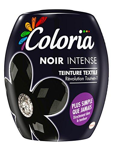 Sphère Coloria - Teinture Textile à utiliser dans la machine à laver - Couleur Noir Intense - 350 g