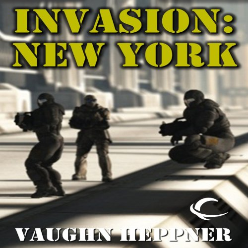 Invasion: New York audiobook cover art