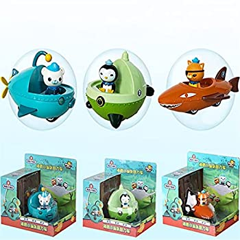 Octonauts Boat Ship Model Gup-A Gup-B C D F with Octonauts Figures Kids Toys Gift