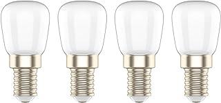 Bombilla LED E14 3W,Equivalente a 20W Bombilla,Blanco Frío 6000K, para Frigorífico/Campana Extractora/Congelador/Máquina de Coser,4 Unidades