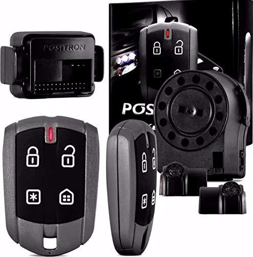 Alarme Keyless Com Trava Automática 330, Positron, 10975000, Bloqueador De Veículo