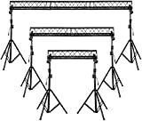 15' Wide Crank Triangular Trussing Mobile DJ Lighting Truss System Triangle 10' Diameter Trussing Instead Of 6' Like Other Brands
