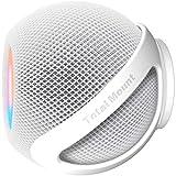 TotalMount Kompatibel mit HomePod Mini (Premium White - Schnellmontage Schraubbefestigung)