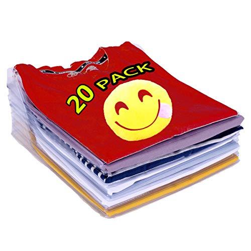 Nifogo Shirt Organizer,kleiderschrank Organizer Tshirt,Tshirt sortierer,Kleidungs organisations System,Tshirt Organizer stapelbar,Anti-Feuchtigkeit, Anti-Falten,Robustem, Recycelbarem(20-Pack)