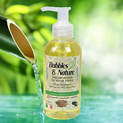 GogiPet Bubbles & Nature - Champú para cabello corto