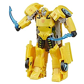 Transformers Toys Cyberverse Ultra Class Bumblebee Action Figure Combines with Energon Armor to Power Up for Kids Ages 6 and Up 6.75-inch