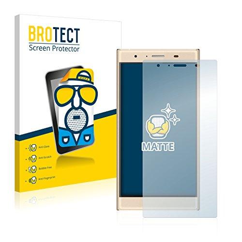 BROTECT 2X Entspiegelungs-Schutzfolie kompatibel mit Doogee Y300 Bildschirmschutz-Folie Matt, Anti-Reflex, Anti-Fingerprint