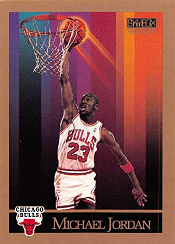 1990-91 SkyBox #41 Michael Jordan NM-MT Chicago Bulls Basketball