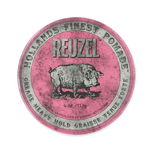 REUZEL Styling Pink Pomade Grease Heavy Hold 113 g