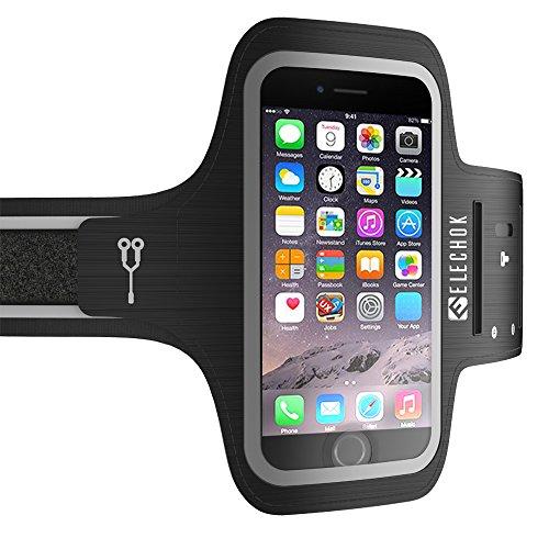 """Sportarmband Handy, Schweißfest Sport Armband für iPhone 11 11 Pro SE 2020, Galaxy S20 S10 A50, Huawei P40 P30 P20, Xiaomi A3 9SE, mit Verlängerungsband, für Joggen Radfahren Wandern, Bis zu 6,1\"""""""