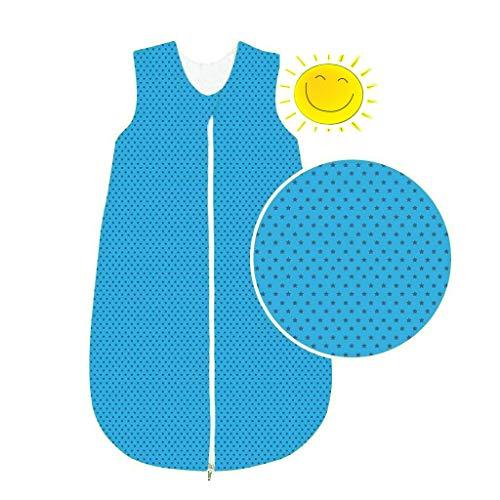 Odenwälder BabyNice Schlafsack Sommer Sommerschlafsack 130 cm Hipp Hopp blau
